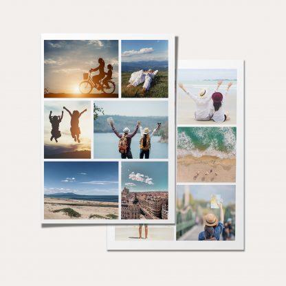collage en papel foto
