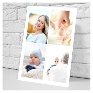Foto collage en papel foto